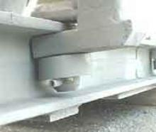 Attenuator Front Rollers